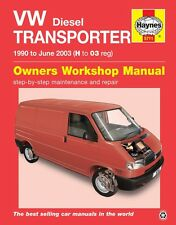 VW T4 Transporter TDi 1.9 2.4 2.5 Diesel 1990 - 2003 Haynes Manual 5711 NEW