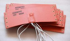 KEENOVO Silicone Heat Pad,WVO Fuel Filter Diesel Heater 12V 200W +thermostat 65C