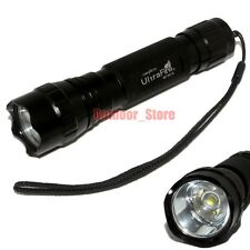1pcs UltraFire 501B CREE XM-L L2 LED 1Mode 1000 Lumens Tactical Flashlight Torch