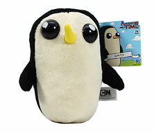 """NEW Officially Licensed 6"""" Gunter Adventure Time Stuffed Plush Doll by Jazwares"""