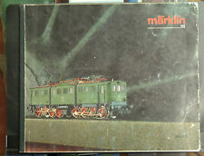 MÄRKLIN CATALOGUE GENERAL HO 1986 87 EN LANGUE ALLEMANDE - MAUVAIS ETAT COMPLET
