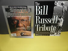 NBA BILL RUSSELL SPORTS ILLUSTRATED & TRIBUTE PROGRAMS PACKAGE