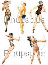 Pin-up Girl waterslide Decal Sticker Sexy Indian Chef Matador #73 By Pinupsplus