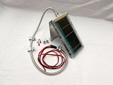 6-Volt Solar Panel With Bracket & Stainless Cable Sheath from ULTRAMATIC FEEDERS