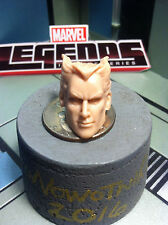 "MARVEL LEGENDS TOYBIZ QUICKSILVER 6"" HEAD CAST"