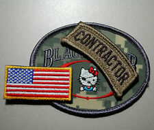 US EMBASSY BAGHDAD STATE DEPT WPS PRIVATE CONTRACTOR KITTY TEAM 3-PC DIGITAL SET