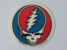 "Decal ""GRATEFUL DEAD - STEAL YOUR FACE""  Mini - decal,   #CD 408,  size 2.5"""
