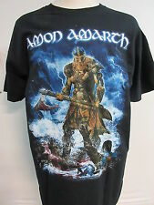 NEW - AMON AMARTH JOMSVIKING TOUR 2016 BAND CONCERT MUSIC T- SHIRT LARGE