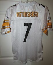 Ben Roethlisberger NFL Pittsburgh Steelers Youth Jersey Large (14-16) Reebok