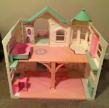 2000 Barbie Doll Dream House Victorian Mansion Dollhouse Elevator RARE HTF!