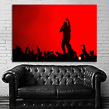 Poster Kanye West Rap Hip Hop Concert 24x35 inch (61x90 cm) on Canvas