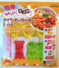 Cutter per würstel Sausage mold set Bento kawaii