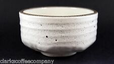 MATCHA CHAWAN JAPANESE TEA CEREMONY CERAMIC BOWL IN WHITE NEW MADE IN JAPAN