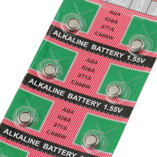 10pcs LR626 LR-626 AG4 177 377A SR626 1.55Volt Alkaline Watch Battery Sealed FC0