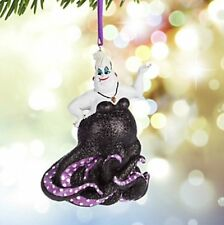 Disney Parks Little Mermaid's Ursula Figural Ornament NEW