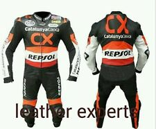 REPSOL CX  MotoGp MOTORBIKE,MOTORCYCLE LEATHER SUIT.CE APPROVED FULL PROTECTON.