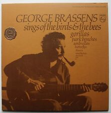 George Brassens Philips Chanson France Comp LP 1970 Booklet