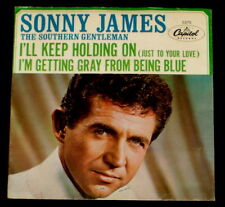 "SONNY JAMES ""I'LL KEEP HOLDING ON/I'm Getting"" CAPITOL 5375 (1965) PIC SLV ONLY"