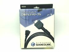 Used Nintendo Official Gamecube D Terminal Video Cable AV GC Japan Boxed 2