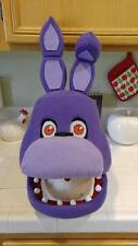 Bonnie Costume Mask!  Moveable Jaw!  FNAF!! Five Nights at Freddy's