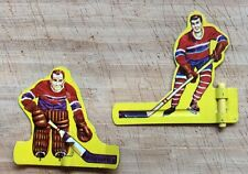 1962 Coleco Electric Action Hockey -Table Hockey Players- 2vs2-Red Team-Rare