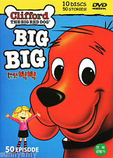 Clifford The BIG Red Dog DVD Boxset - 50 Episodes on 10 DVDs 5 Cases (NEW) PBS
