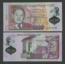 MAURITIUS - 25 rupees  2013  POLYMER  P64  Uncirculated  ( Banknotes )