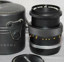 Olympus OM-System Zuiko Auto-Macro 1:3.5 f=50mm Lens [460] – from Japan