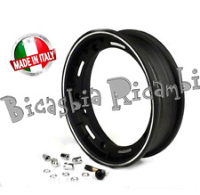 6279 - CERCHIO TUBELESS NERO 2-50 VESPA 180 200 RALLY