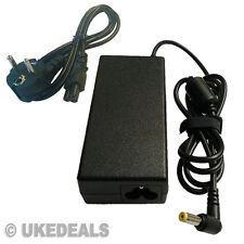 Nueva Packard Bell Easynote tm97 Laptop Adaptador 65w Cargador Fuente de alimentación
