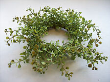 "10"" Baby's Grass Ring, Fits 3"" Candles, Candle Ring, Candle Wreath"