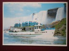 POSTCARD USA NIAGARA FALLS - 'MAID OF THE MIST V'