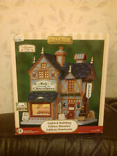 LEMAX CADDINGTON VILLAGE MOLLY'S HOUSE OF CHOCLATES NEW BOXED 2010