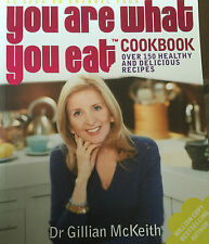 CBB Hand Signed You Are What You Eat Book by Gillian McKeith   Channel 4 RARE