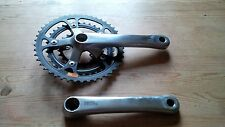Retro Heaven - Shimano Deore DX - Black / Silver Crankset - FC-MT60 - 170mm