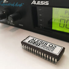 ALESIS QUADRAVERB 2 - 2.01 FIRMWARE UPGRADE - Q2 EPROM OS UPDATE + CHIP PULLER