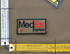 """Ricamata / Embroidered Patch PJ """"Medex"""" Coyote Brown with VELCRO® brand hook"""