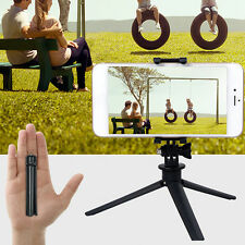 Mini Tripod Stand Mount Base Holder For iPhone Samsung Lumia SONY GoPro Camera
