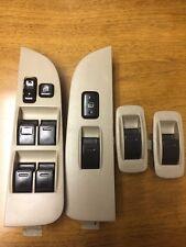 98 99 00 01 02 Toyota Corolla Driver Master Power Window Switch Set OEM Beige