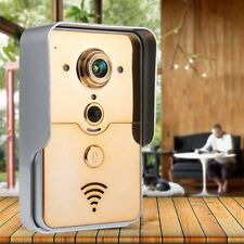Wireless WiFi Video Camera Door Bell Phone Doorbell Home Security Night Vision