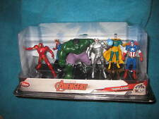 Disney Store Marvel Avengers Initiative 6 Figurine Playset. Ultron, Vision, etc
