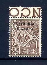 "TRENTINO - 1918 - Sovrastampato ""Venezia Tridentina"" - 1 cent. capovolto"
