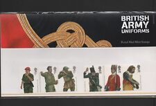 GB 2007 BRITISH ARMY UNIFORMS STAMP PRESENTATION PACK