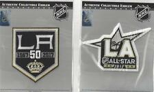2016 2017 Los Angeles Kings Patch Combo 50th Anniversary & All Star Official NHL