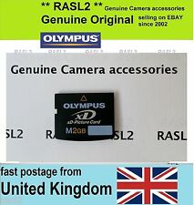 Original Olympus 2 GB XD-Picture Card ,M type XD memory card, 2 GB  UK Seller