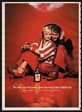 3w1255/ Alte Reklame von 1974 - ECKES EDELKIRSCH