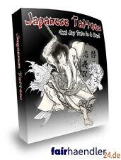 JAPANISCHE TATTOO VORLAGEN Tätowierung Tattoos JAPANESE STYLE JAPANISCH E-LIZENZ