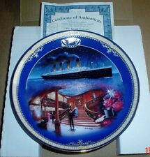 Bradford Exchange Collectors Plate THE GRAND STAIRCASE TITANIC