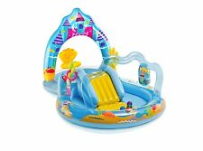 Intex Mermaid Kingdom Play Center Inflatable Kiddie Spray Wading Pool