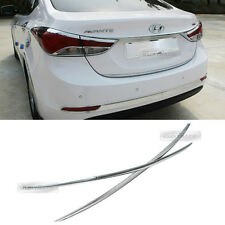 Chrome Rear Trunk Line Cover Garnish Molding C752 for HYUNDAI 2011-2015 Elantra